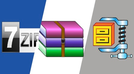 Compare 7-Zip vs WinRAR and WinZIP - Winrarfree net
